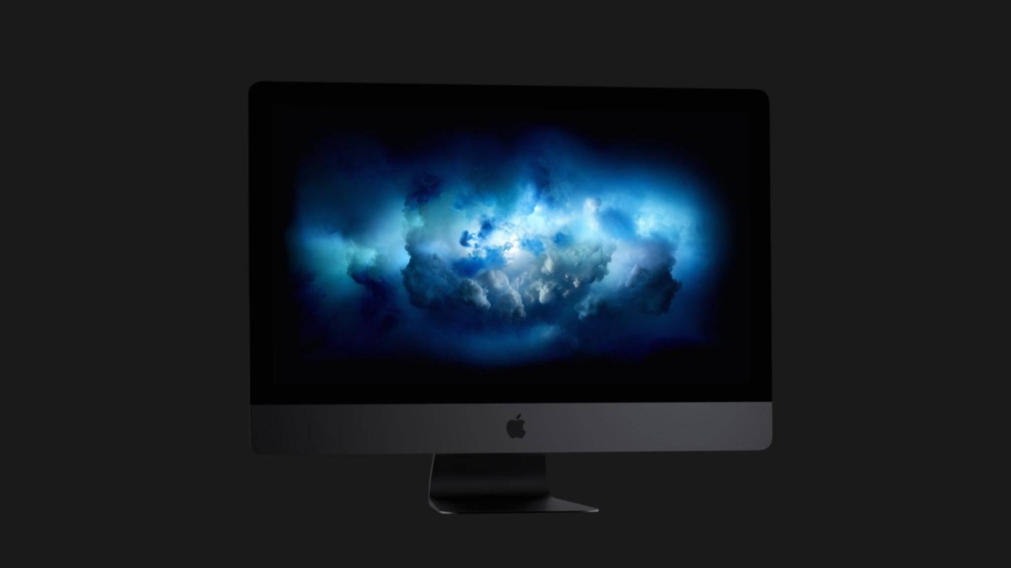 Der neue iMac Pro erscheint am 14. Dezember in Deutschland.