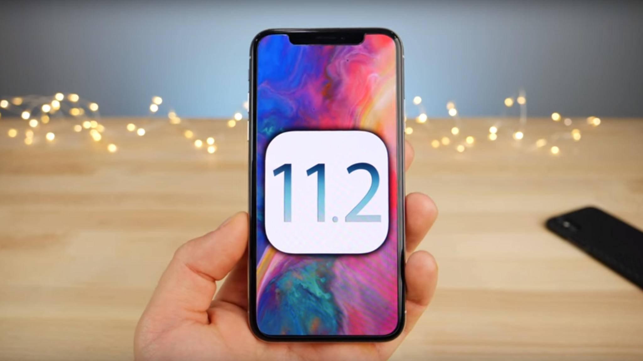 iOS 11.2 ist da und bringt einen Fix für den Datums-Bug mit.