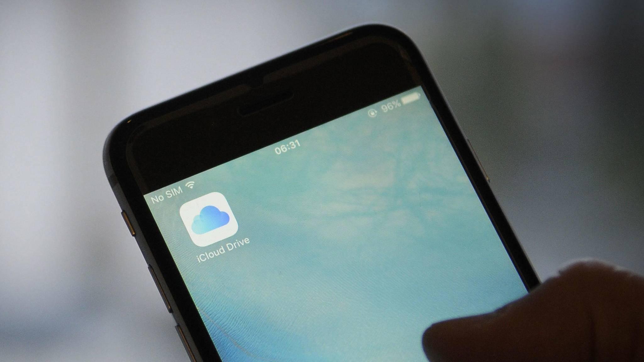 Mit iCloud kann ganz einfach ein Backup des iPhones angelegt werden.