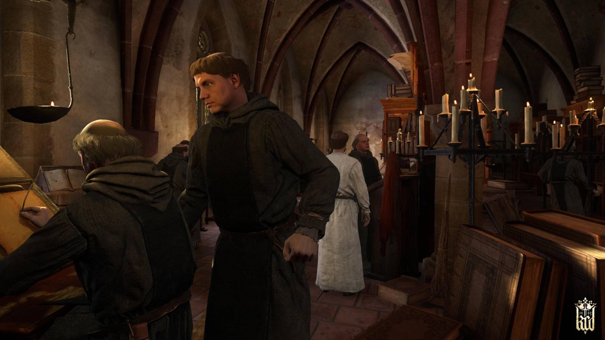 Als Klosterbruder muss sich Heinrich einem strengen Tagesablauf unterordnen.