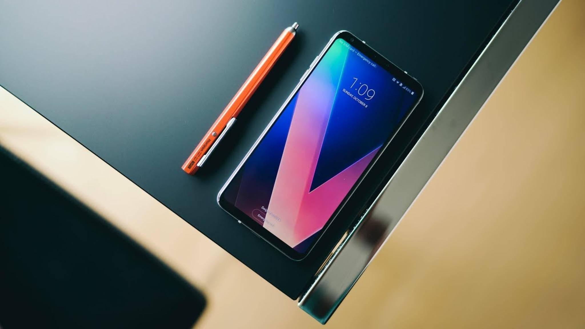 Zum MWC 2018 soll offenbar eine Deluxe-Version des LG V30 vorgestellt werden.
