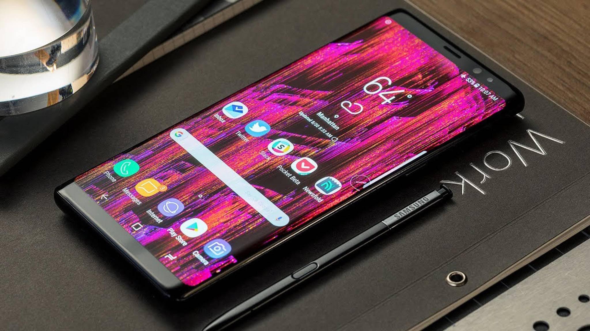 Der Rollout von Android 8.0 Oreo für das Galaxy Note 8 hat begonnen.