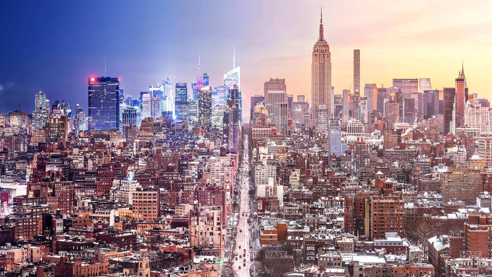 Hochauflösender wurde die Skyline von New York kaum abgelichtet.