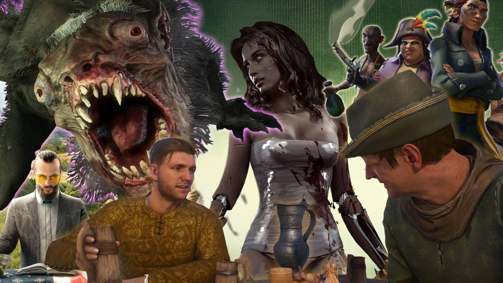 """2018 kommen so wichtige Titel wie """"Far Cry 5"""", """"Metro: Exodus"""", """"Kingdom Come: Deliverance"""" und """"Cyberpunk 2077""""."""