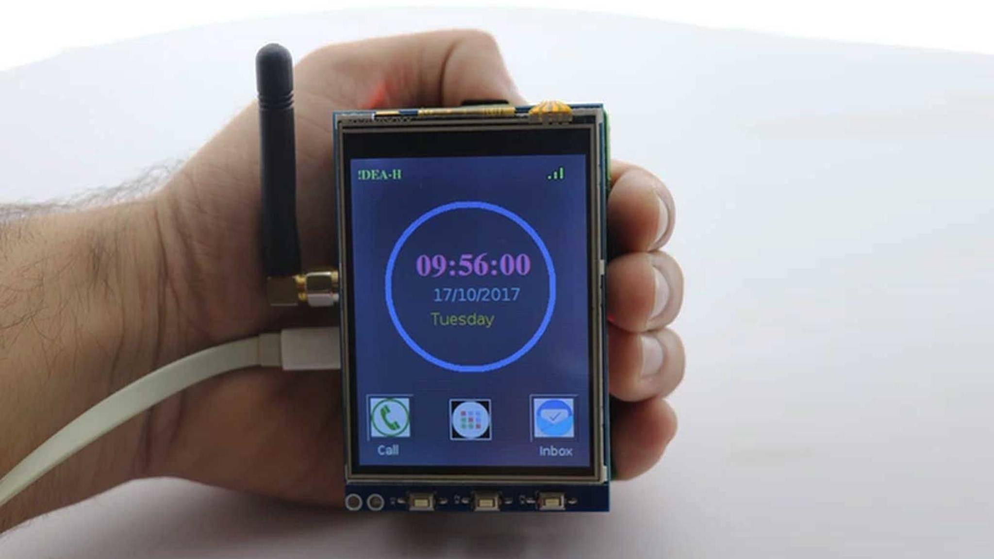Mit einem RaspberryPi lässt sich ein Smartphone bauen.
