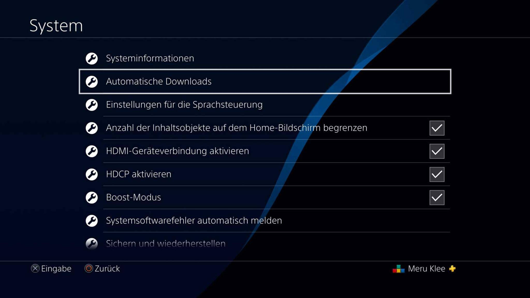 """...""""Automatische Downloads""""..."""