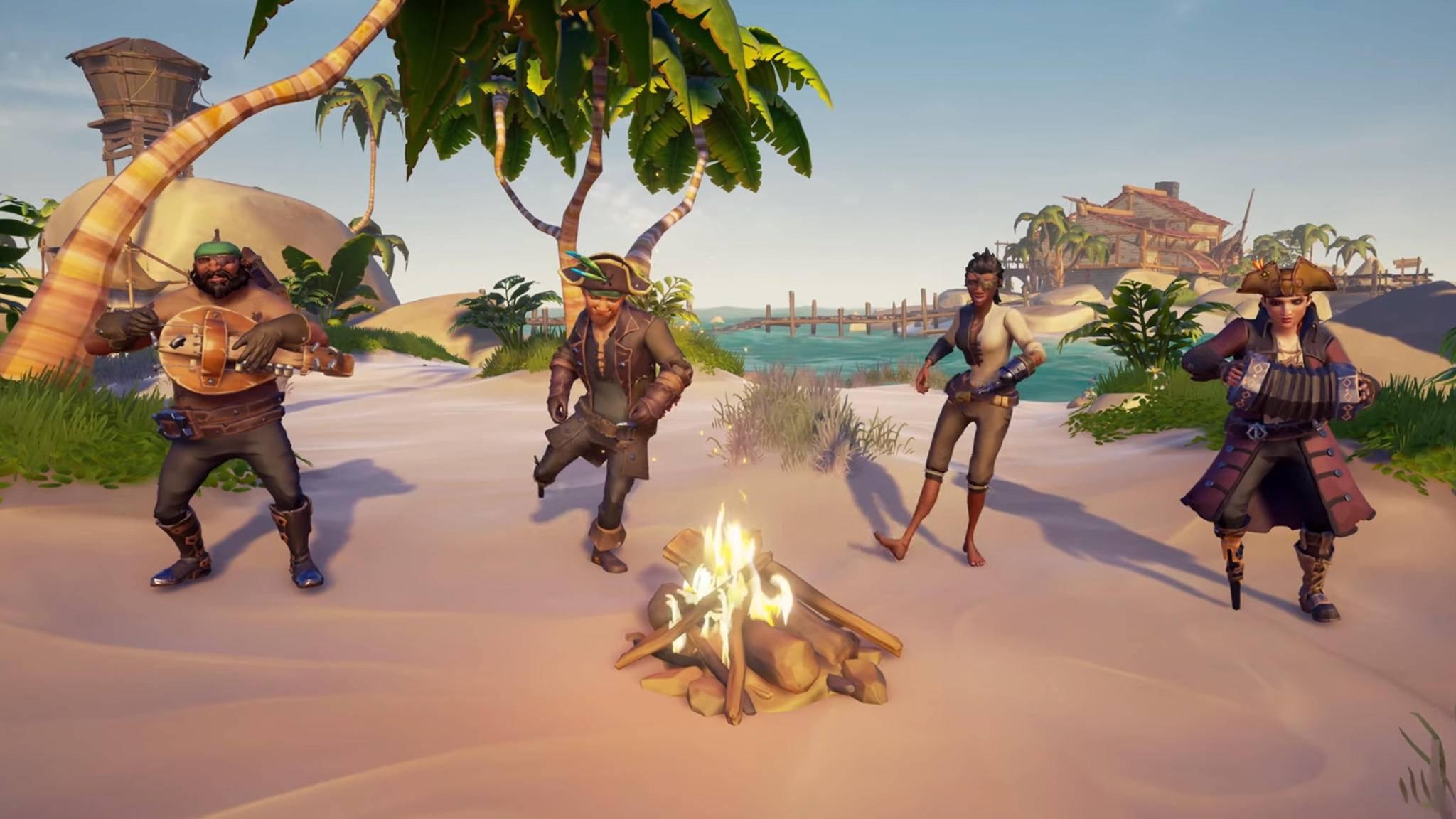 """In """"Sea of Thieves"""" schaffen sich die Spieler ihre eigenen Abenteuer."""