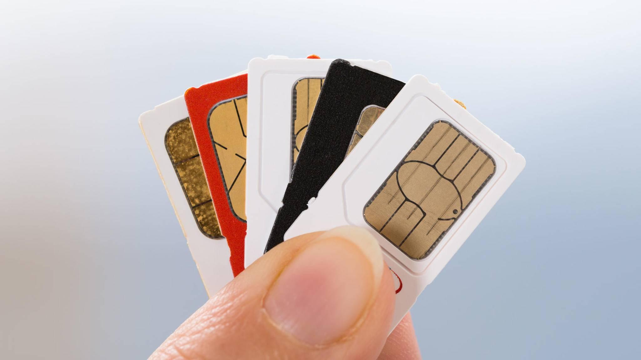 Ist das Handy mit einem SIM-Lock versehen, funktioniert es nur mit einem bestimmten Mobilfunkanbieter.