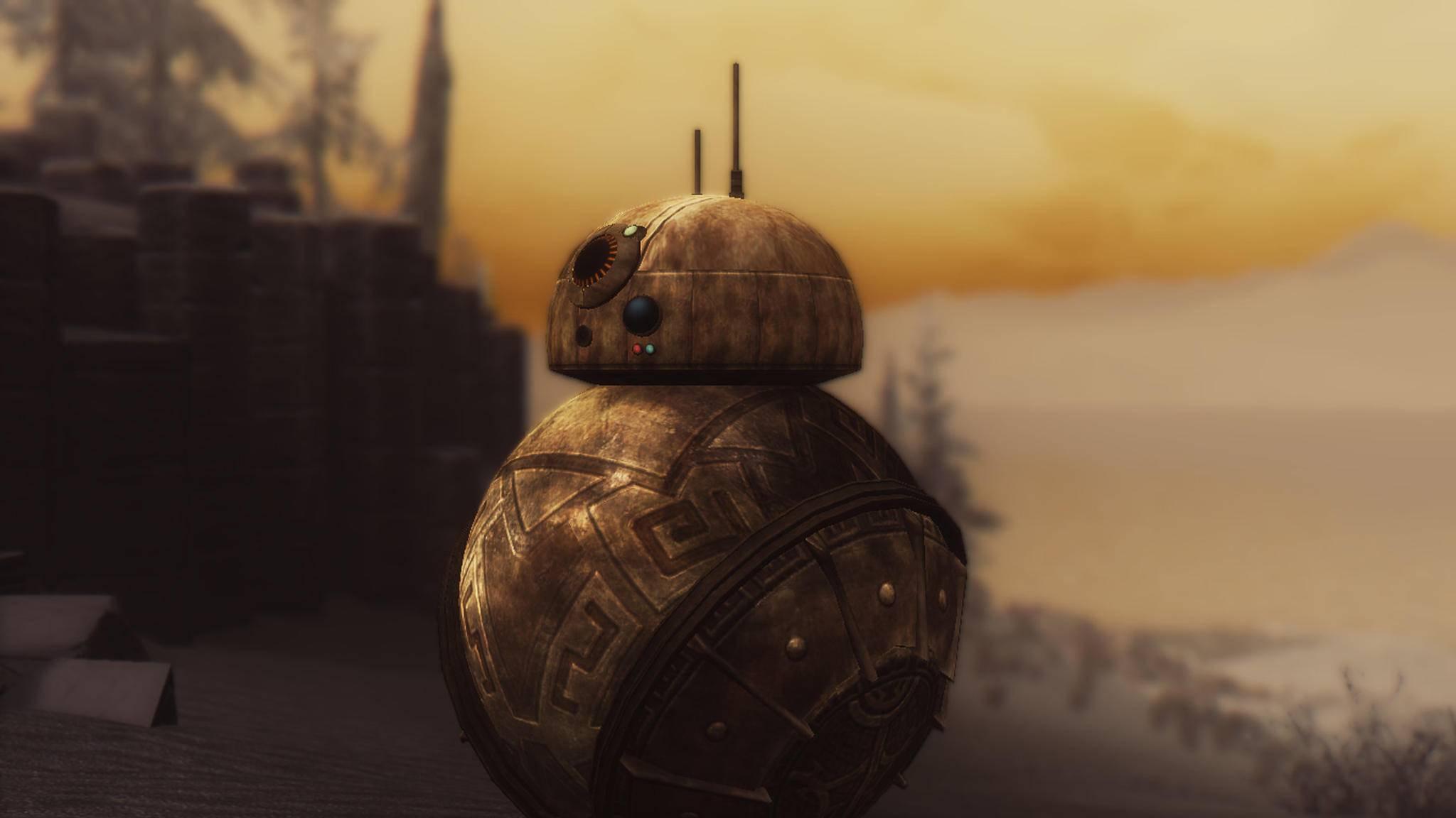"""Den kennt man doch? Skippy wurde eindeutig vom """"Star Wars""""-Droiden BB-8 inspiriert."""
