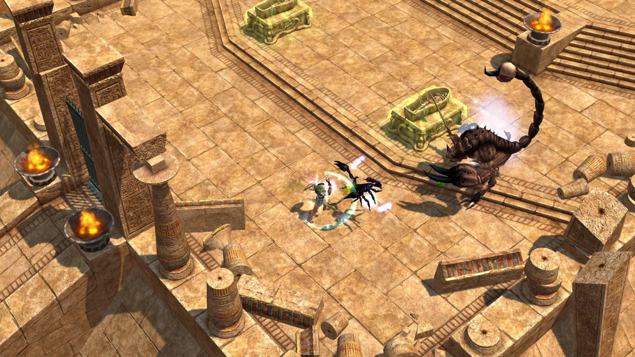 """""""Titan Quest"""" öffnet die Tore zur antiken Mythologie 2018 auch für Konsolenspieler."""