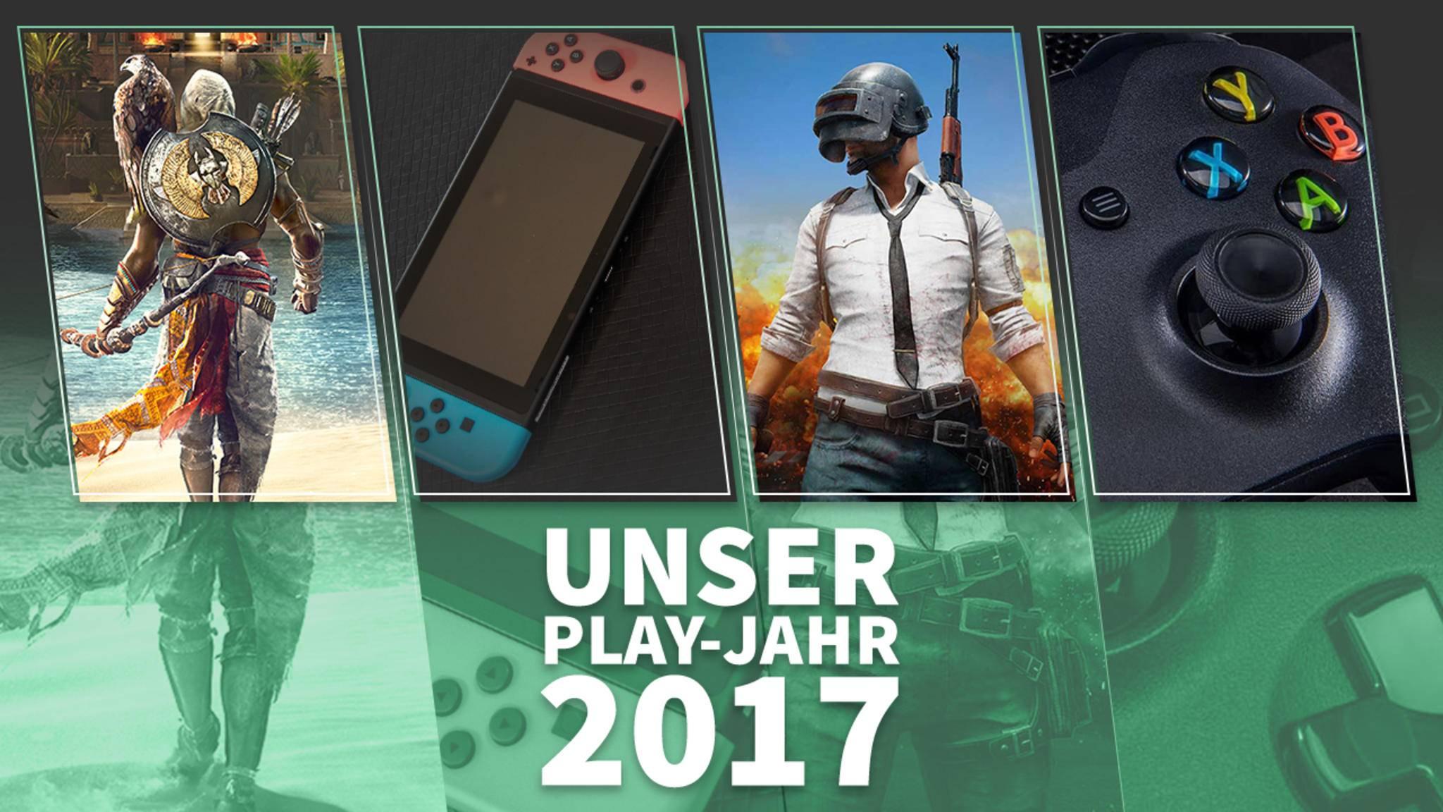 Assassinen, Halb-Handhelds, Indie-Hits und Powerkonsolen – so war unser Spielejahr 2017!