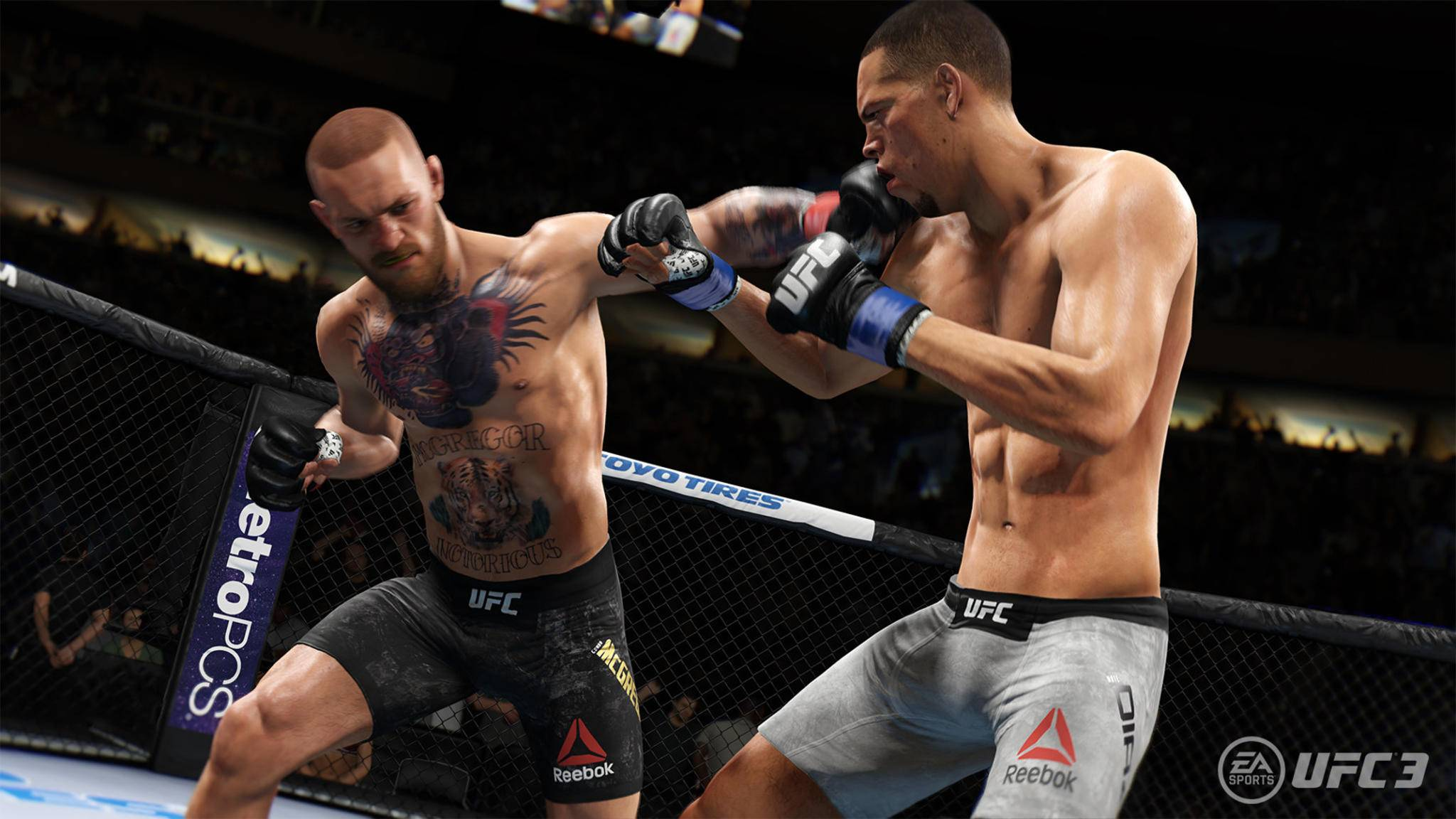 """""""UFC 3"""": Die Spielgrafik ist gut, aber so gut nun auch wieder nicht ..."""