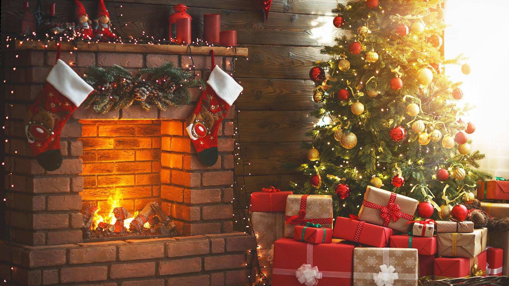 Ist alles weihnachtlich geschmückt, gehört der Griff zur Kamera einfach dazu.