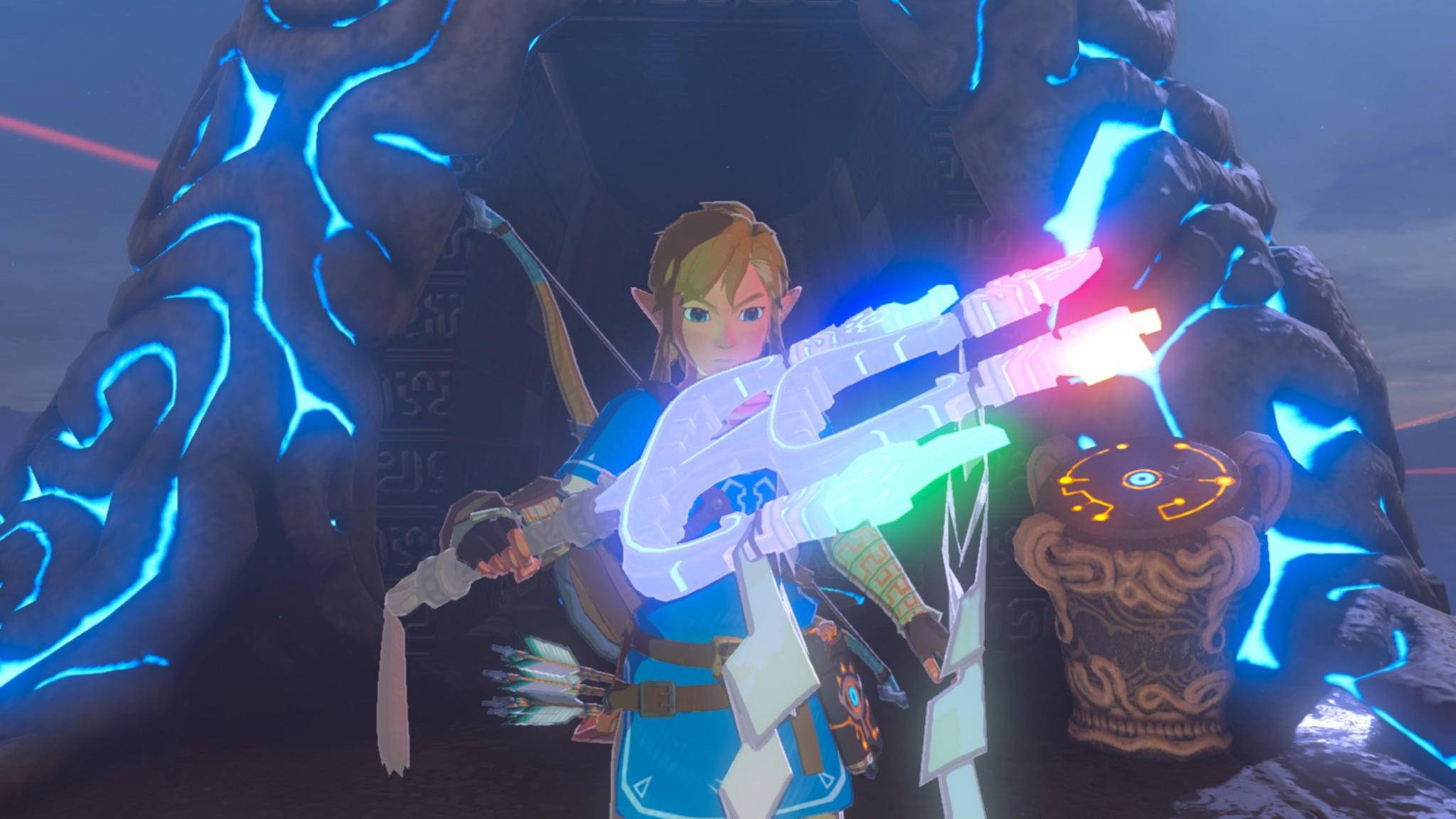 """Link wäre in """"Zelda: Breath of the Wild"""" fast zum Spider-Man-Verschnitt geworden."""