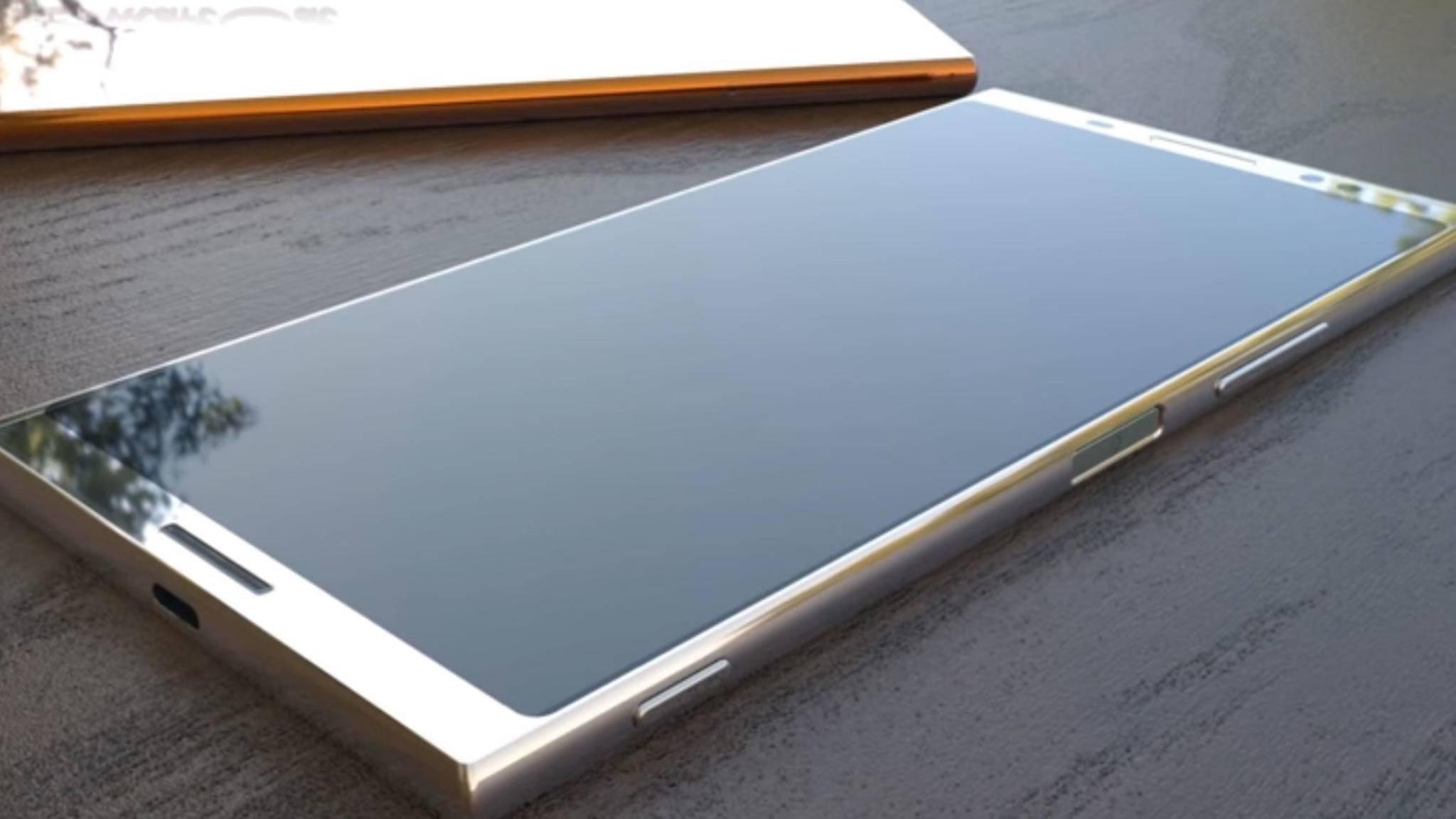 Die neuen Sony-Smartphones bieten wohl ein 18:9-Format und kleinere Displayränder.