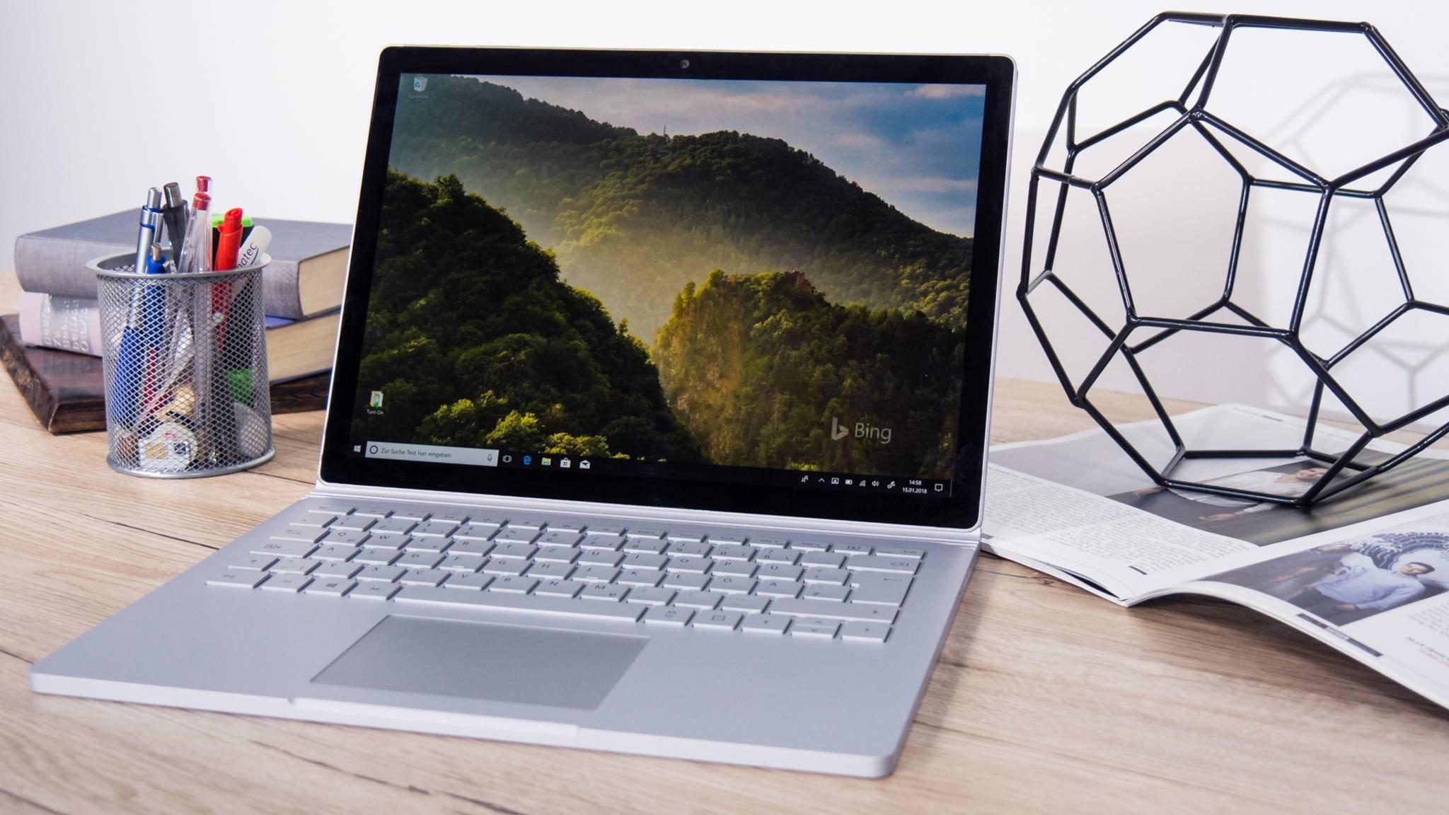 Das günstigste Surface-Book-2-Modell erhält einen Leistungs-Upgrade.
