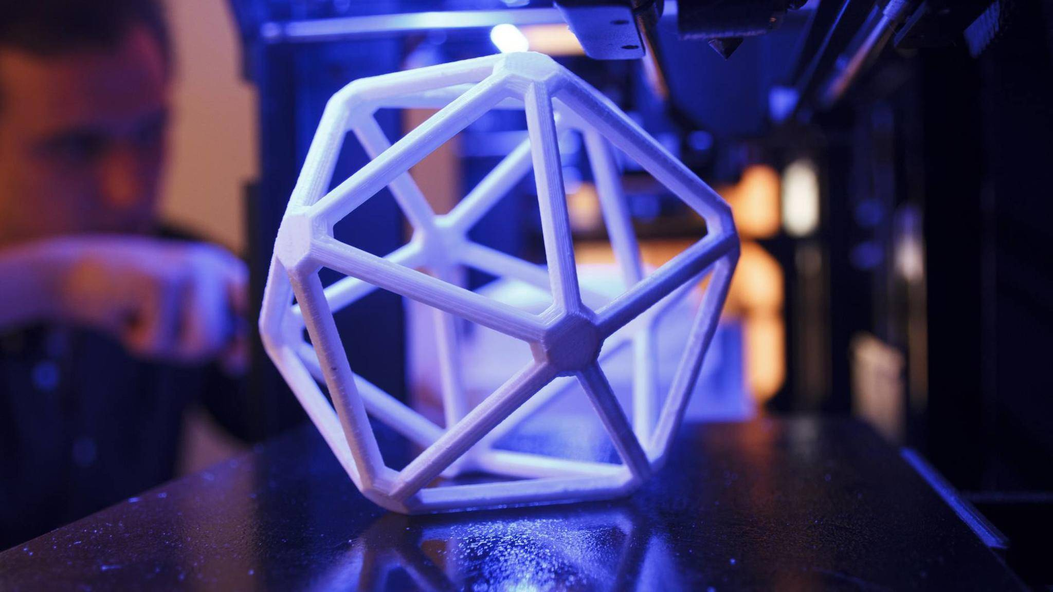 Ein 3D-Drucker kann viele kuriose Dinge bauen.