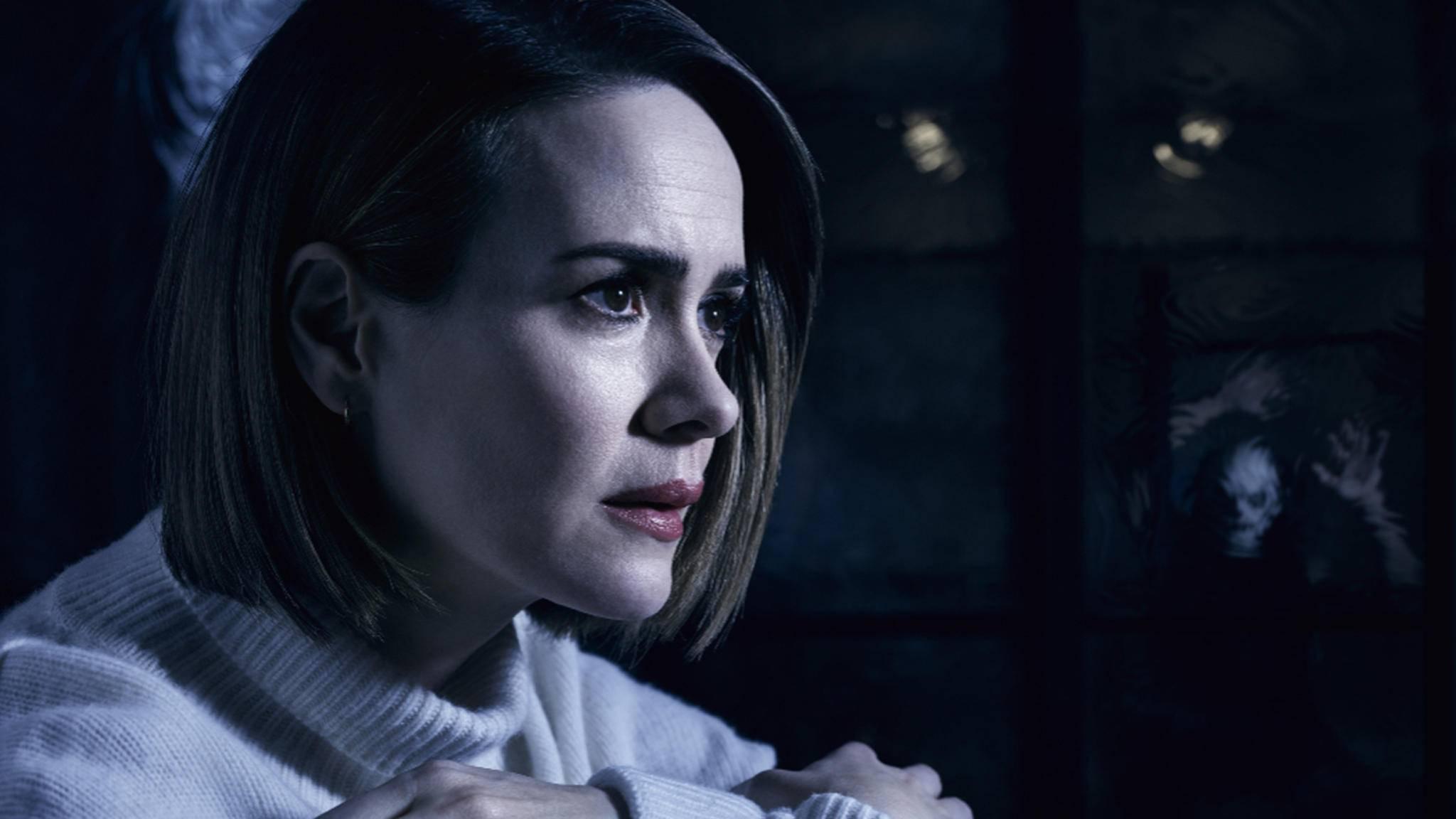 """Welcher Schrecken erwartet Sarah Paulson wohl in Staffel 8 von """"American Horror Story""""?"""