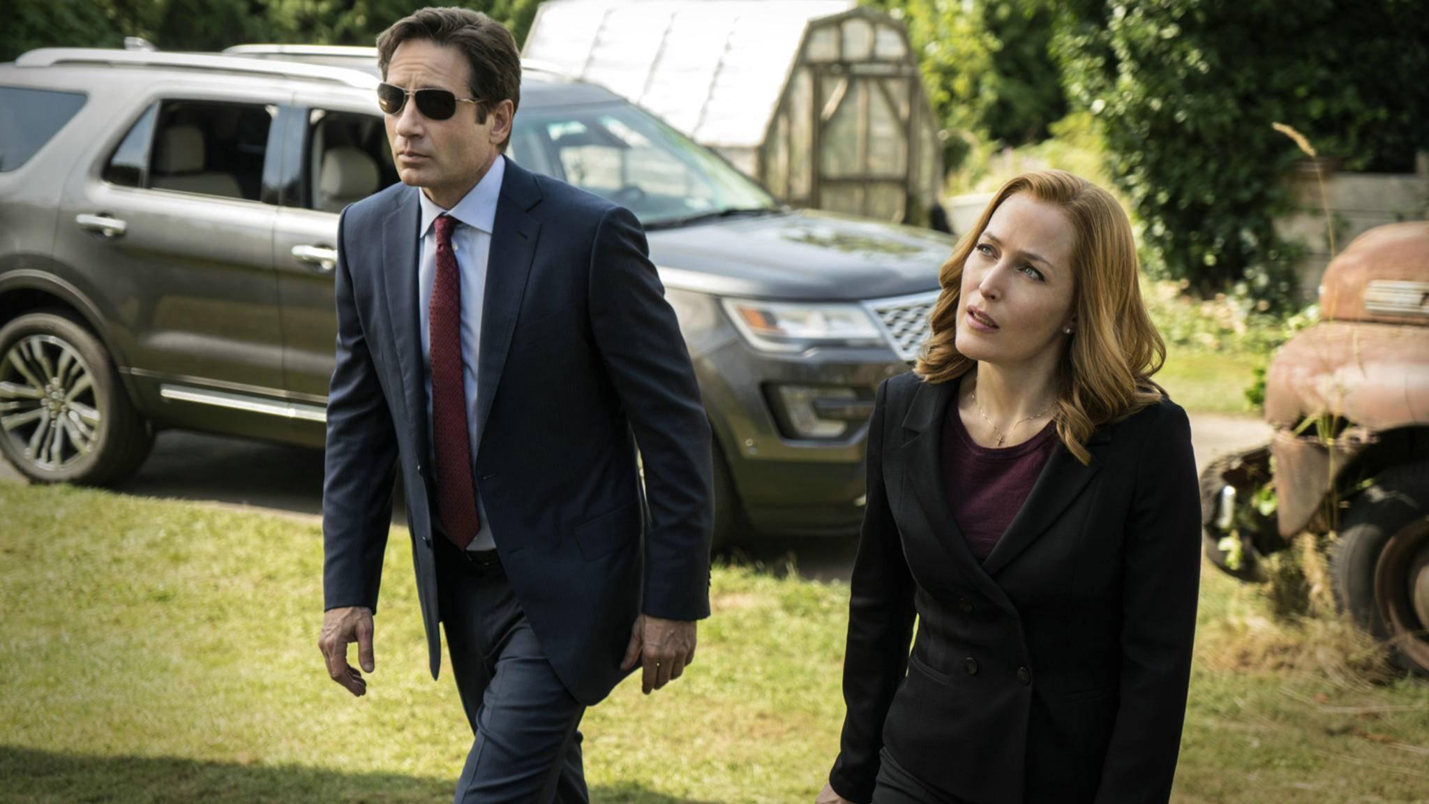 """Mulder und Scully müssen in Staffel 11 von """"Akte X"""" einmal mehr ran."""