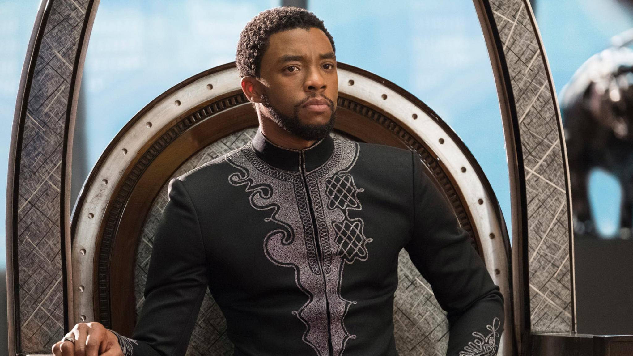 """Die Welt trauert um """"Black Panther""""-Star Chadwick Boseman."""