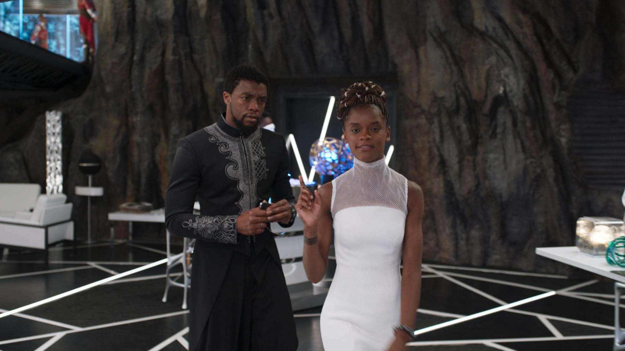 Hat Shuri (Letitia Wright, rechts im Bild) das Zeug zur Königin von Wakanda?