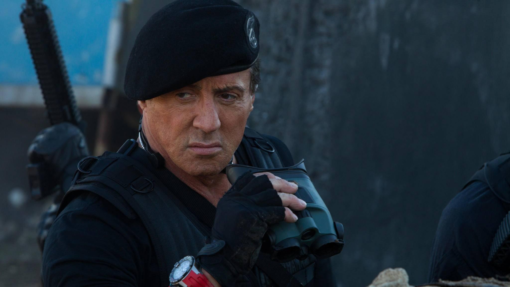 Wieder im Einsatz: Sylvester Stallone kehrt vermutlich als Barney Ross zurück.