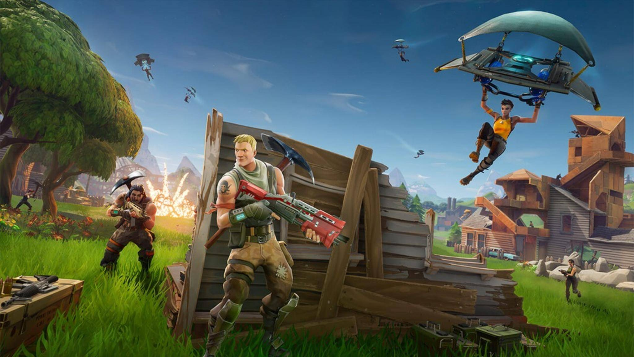 """Fortnite: Battle Royale"" ist ein Multiplayer-Phänomen."