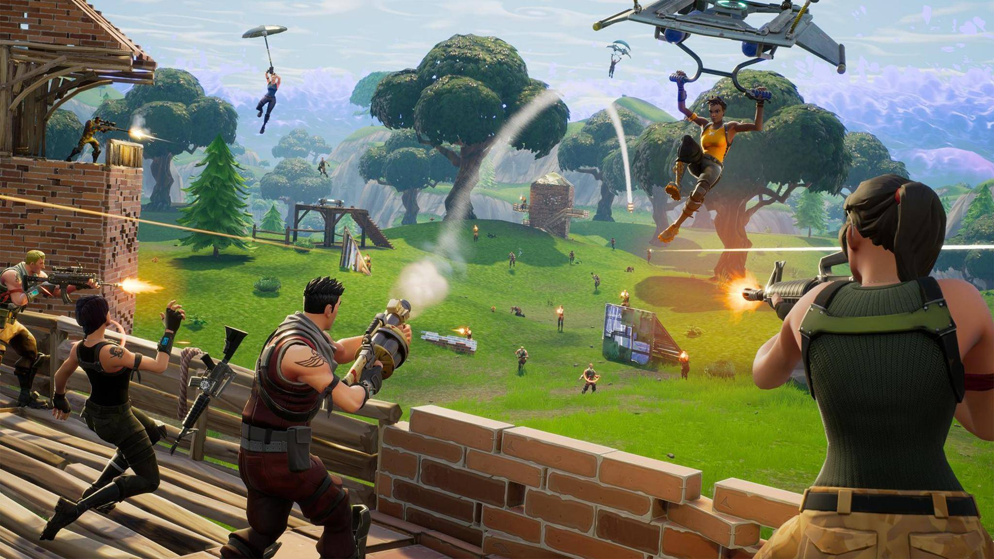 """Fortnite: Battle Royale"" wird mobil."