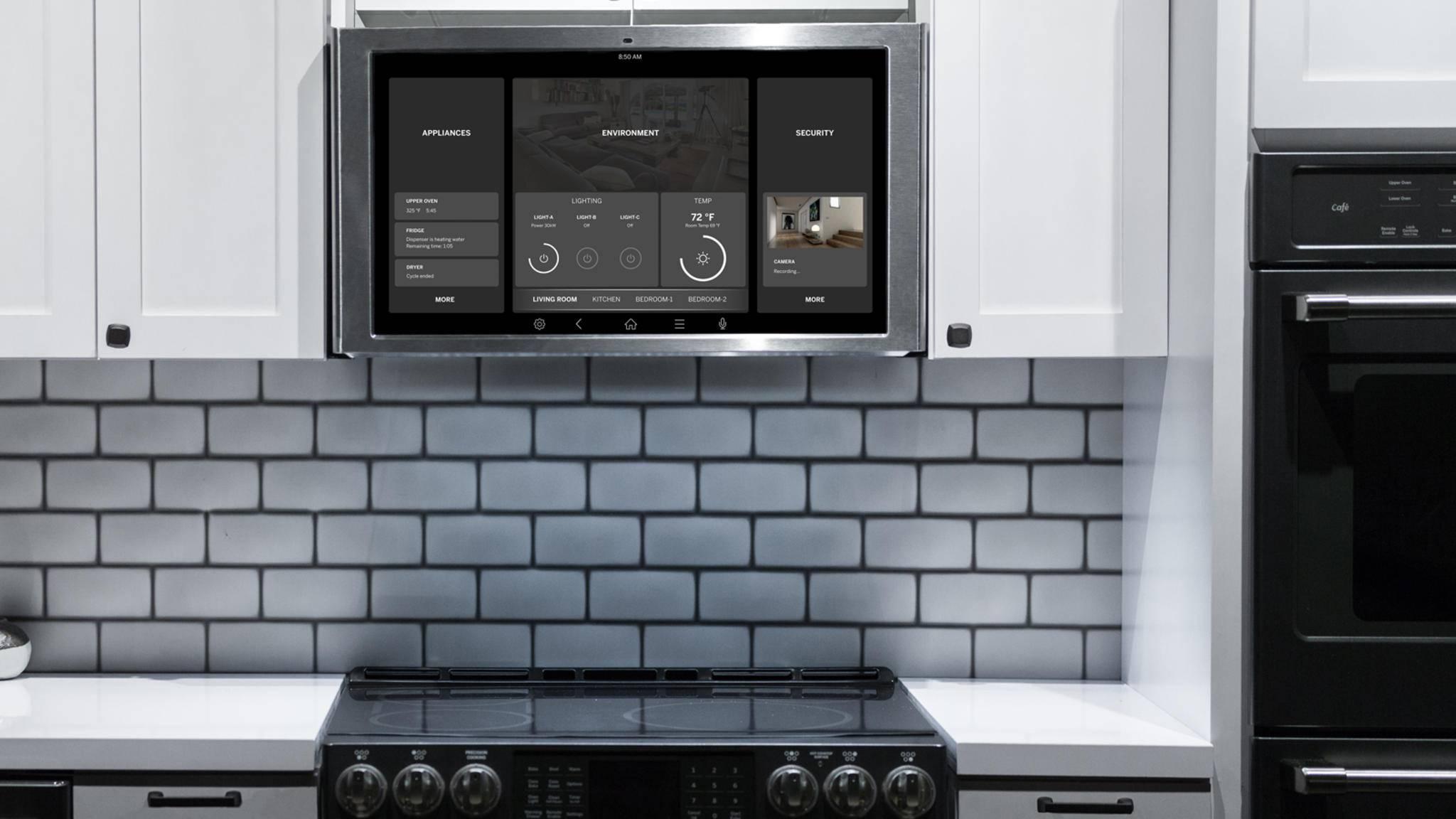 Mit dem neuen Smart-Hub wird Deine Küche zur Kommandozentrale.