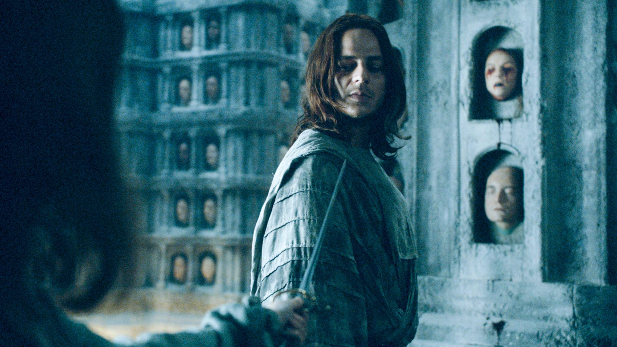 "Der Deutsche Tom Wlaschiha spielt in ""Game of Thrones"" den Jaqen H'ghar."