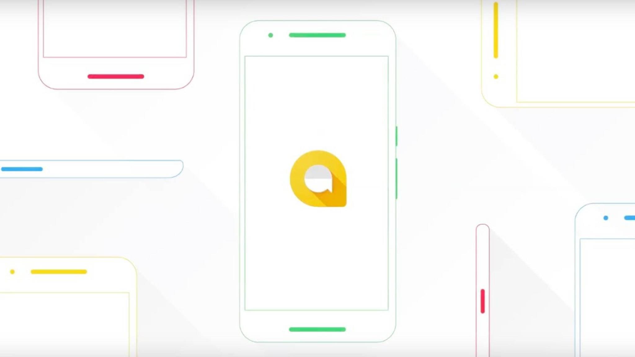 Google Allo will mit eingebautem Google Assistant punkten.