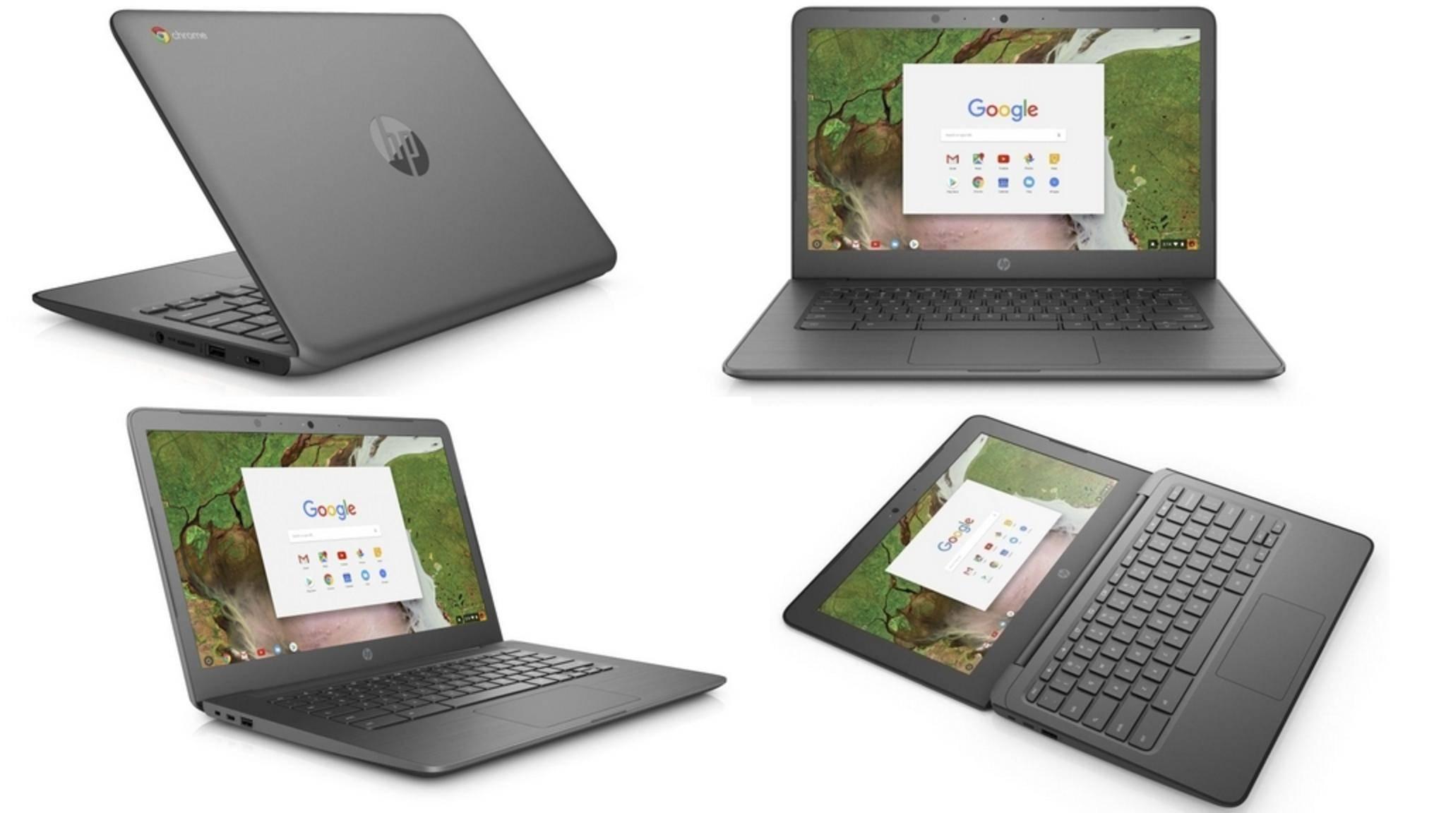 Die neuen Chromebooks von HP werden erstmals auf der CES 2018 gezeigt.