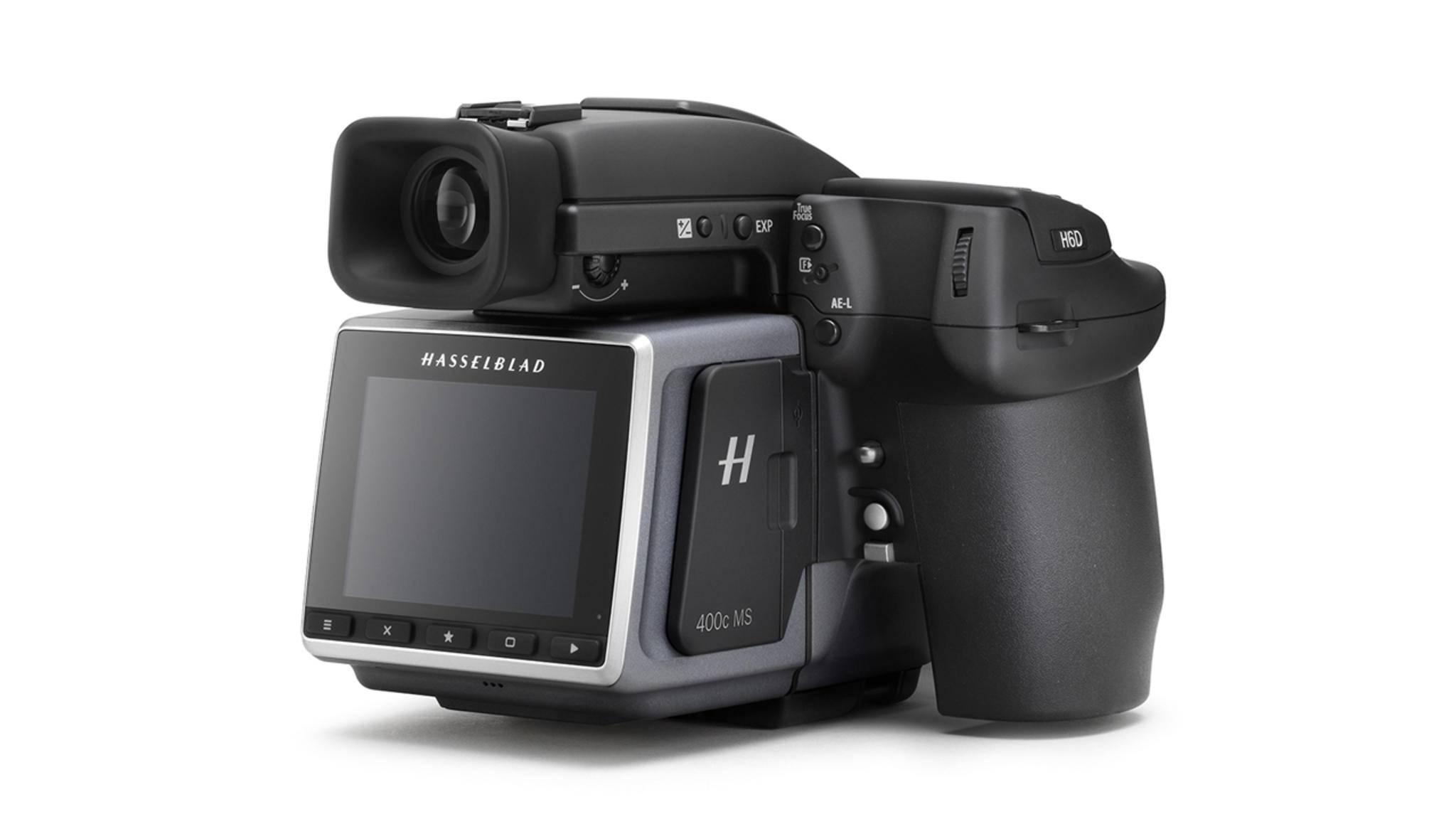 Die Hasselblad H6D nimmt Bilder mit bis zu 400 Megapixeln auf.