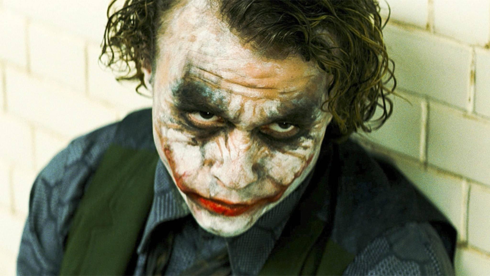 Mit der Rolle des Joker schrieb Heath Ledger Filmgeschichte.