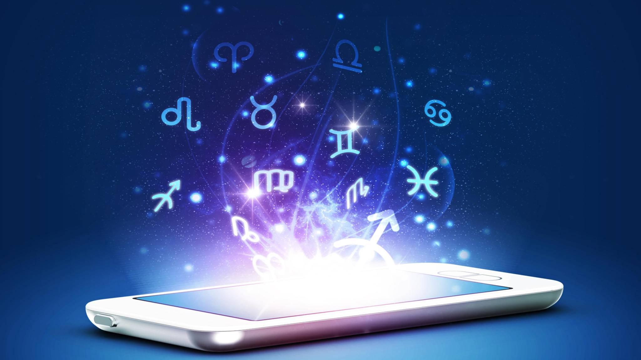 Mit den richtigen Horoskop-Apps holst Du Dir die astrologische Zukunft aufs Smartphone.