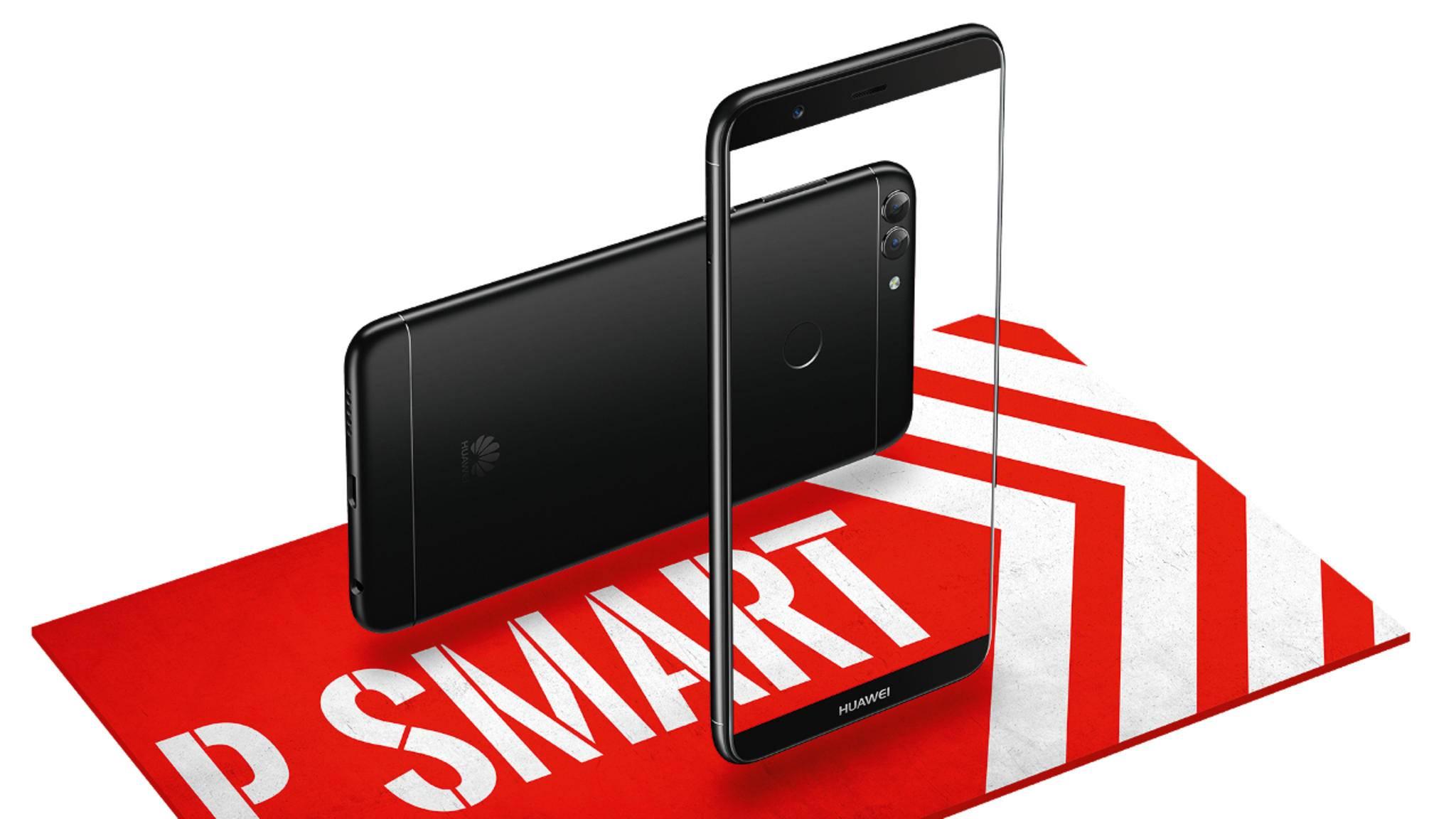 Mit dem Huawei P Smart leiten die Chinesen 2018 ein.