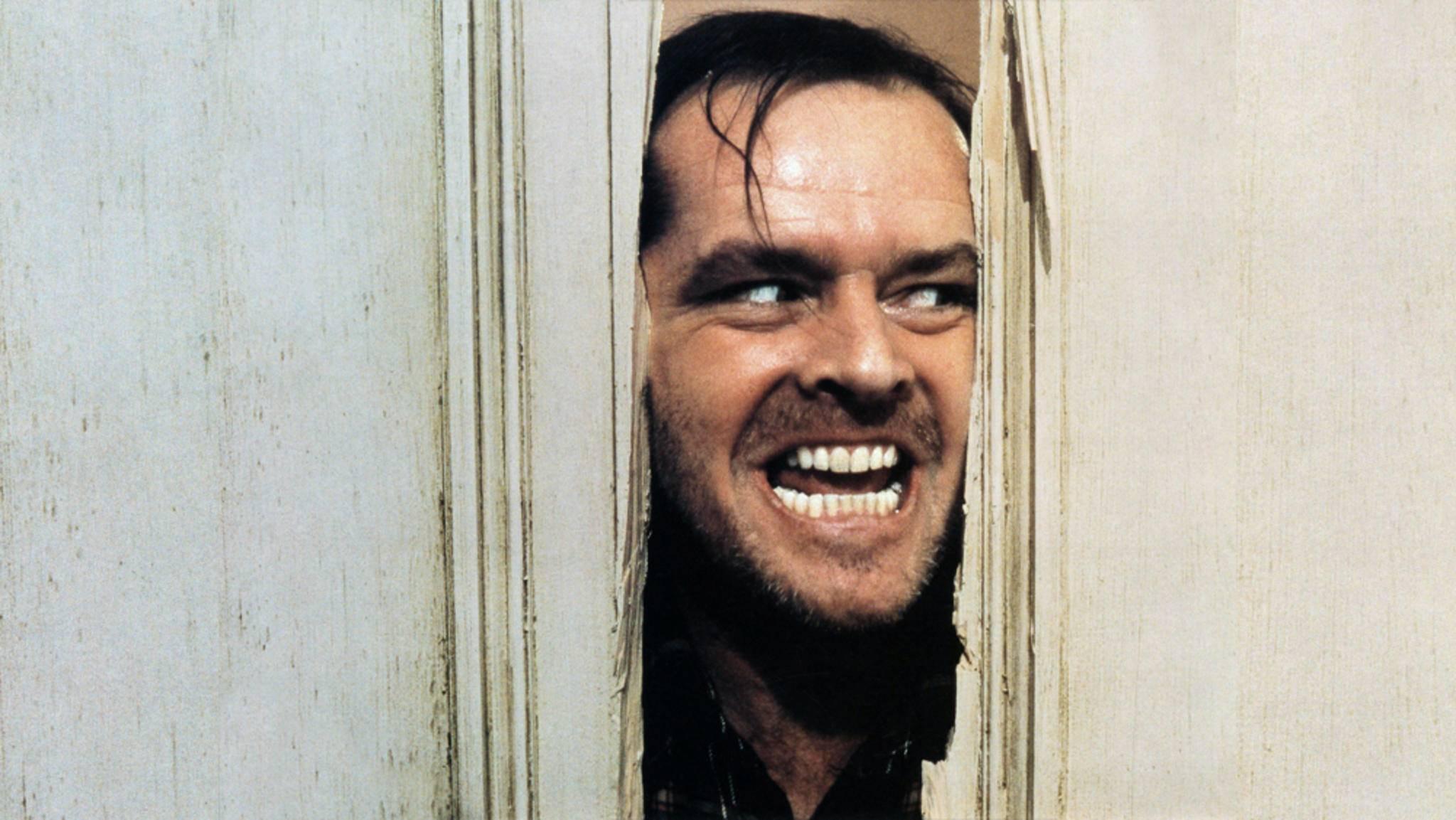 """Nicht nur in """"The Shining"""" ging Jack Nicholson bis an den Rand des Wahnsinns."""