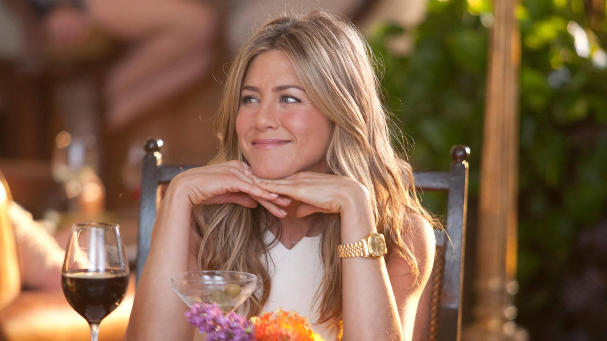 Sonnenschein Jennifer Aniston sorgt vor allem in Komödien für gute Stimmung.