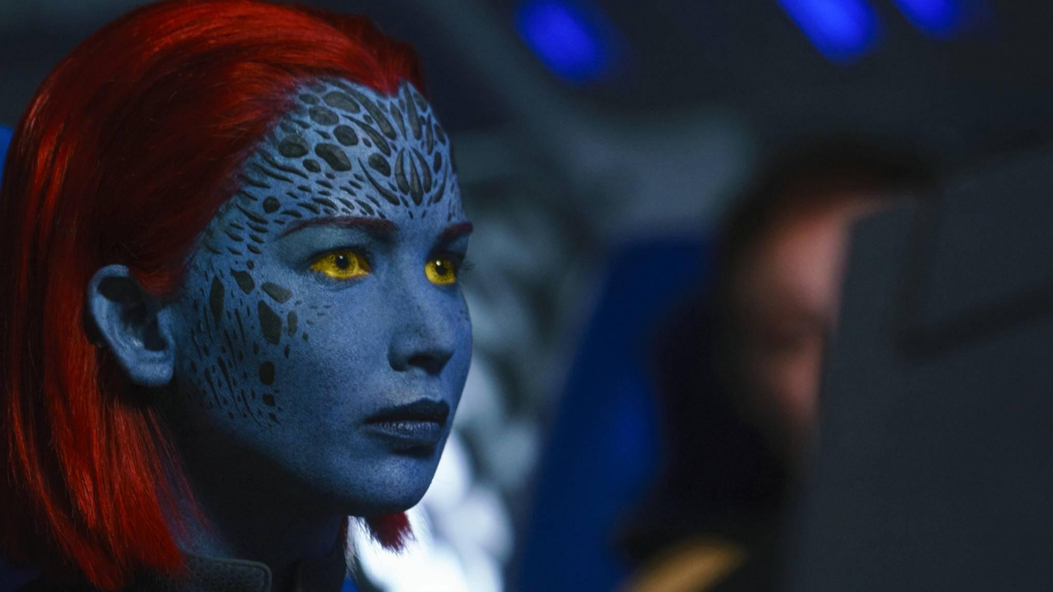 """2018 starten gleich zwei neue """"X-Men""""-Filme. Einer davon ist """"X-Men: Dark Phoenix"""", für den Jennifer Lawrence als Mystique zurückkehrt."""