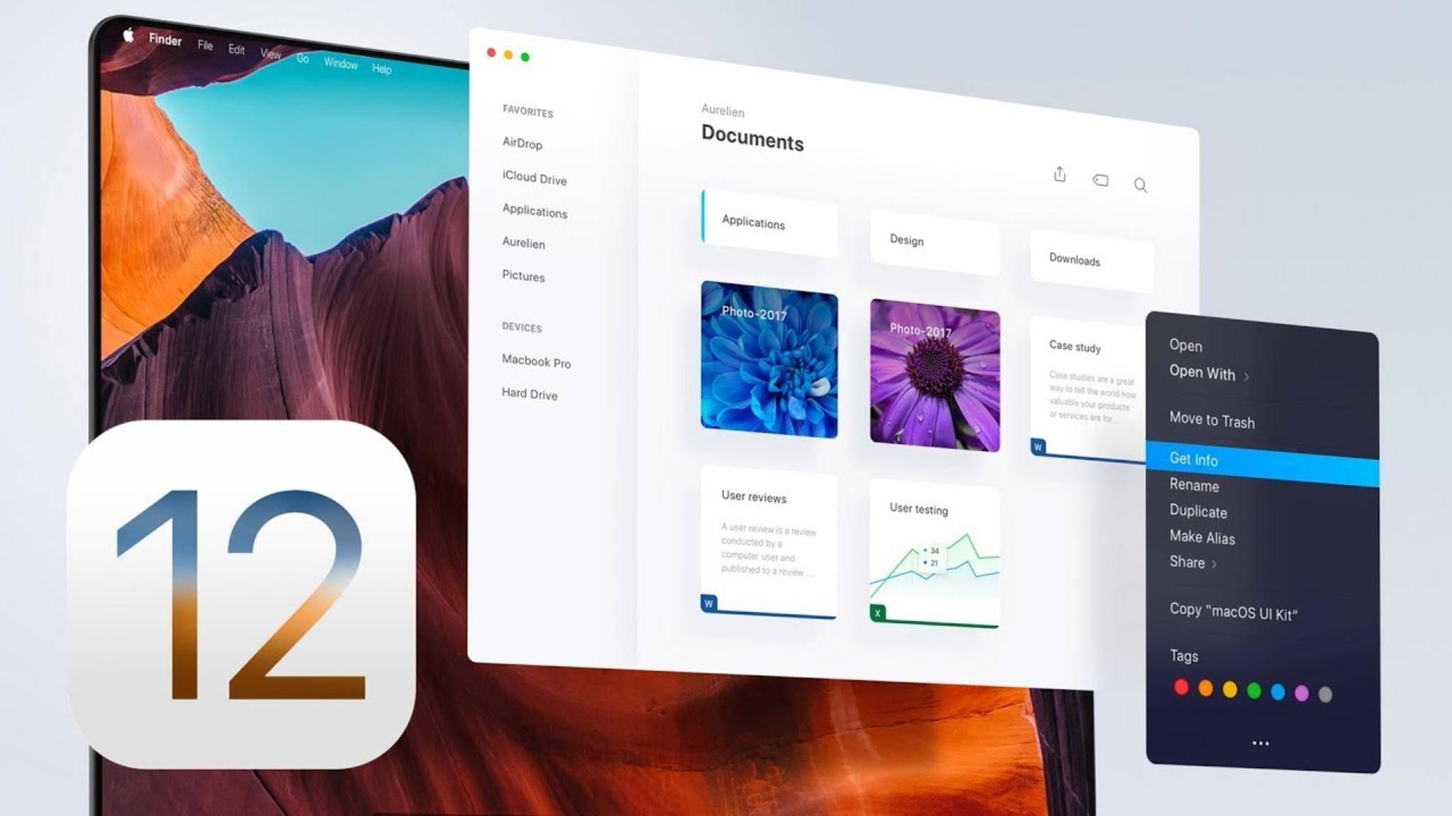 So könnte iOS 12 aussehen.