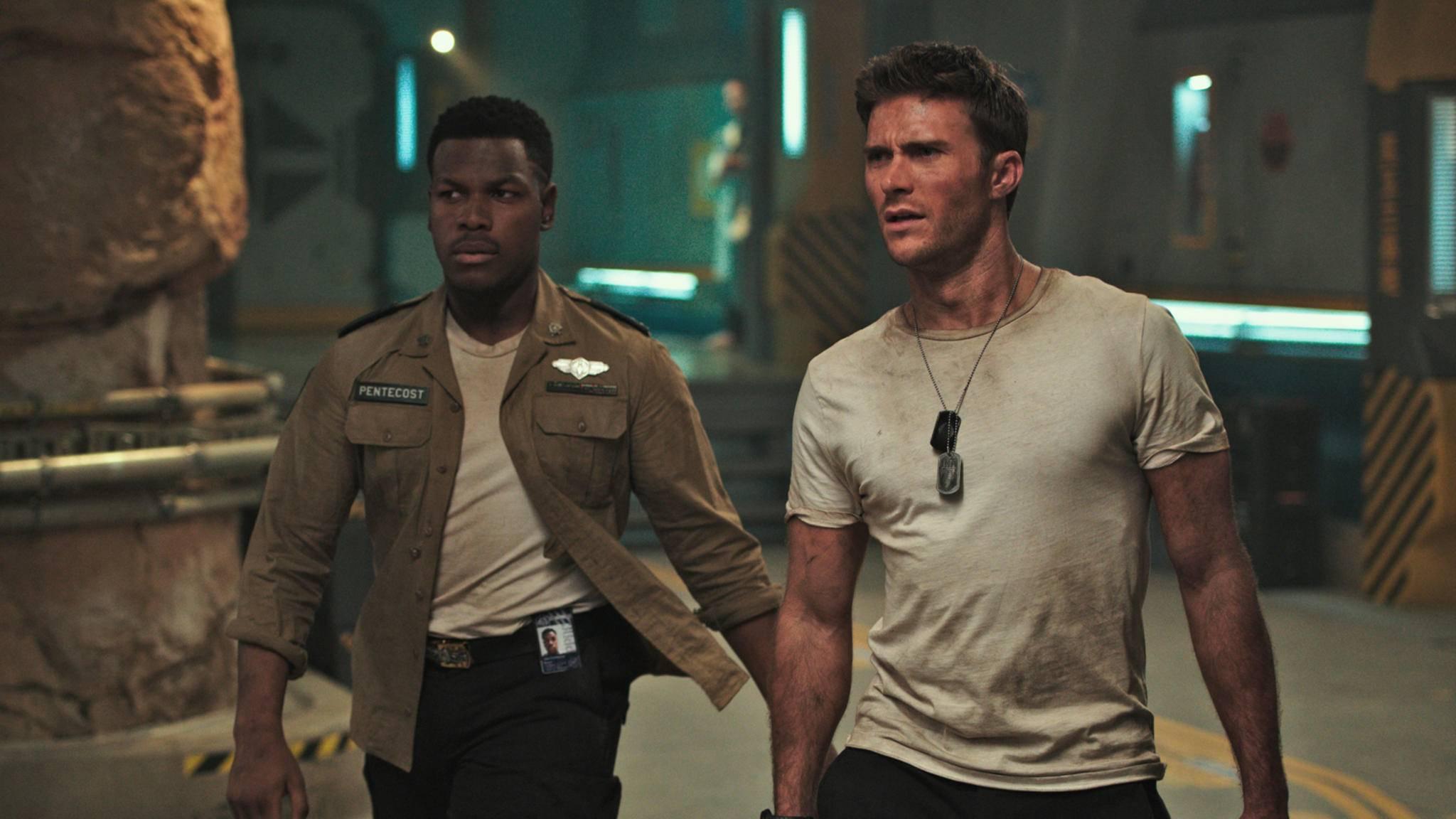 Vom Jaeger-Piloten zur Waffe X? Für Scott Eastwood (rechts im Bild) durchaus denkbar.