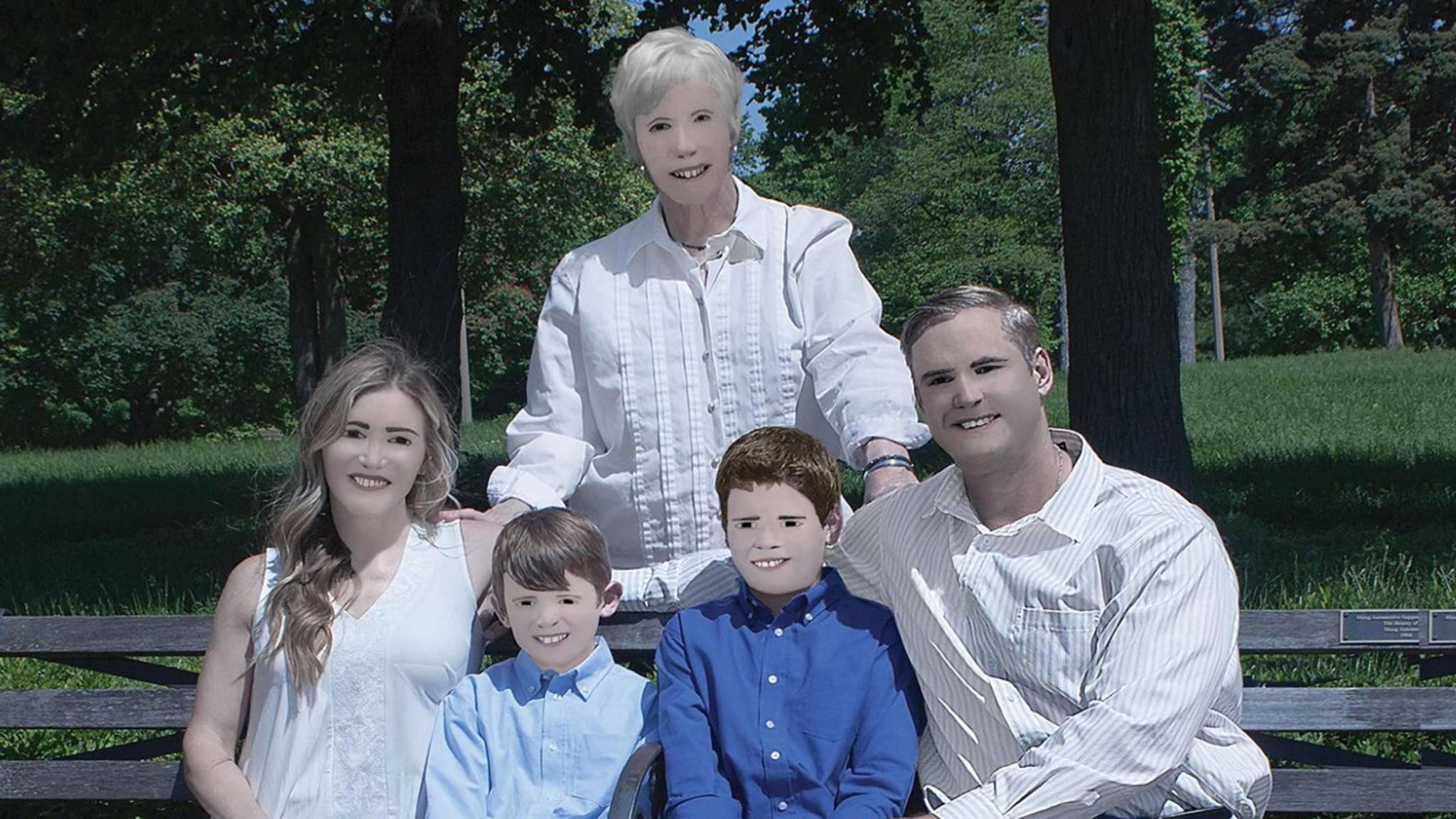 Ja, für diese Bilder hat die Familie eine Fotografin beauftragt.