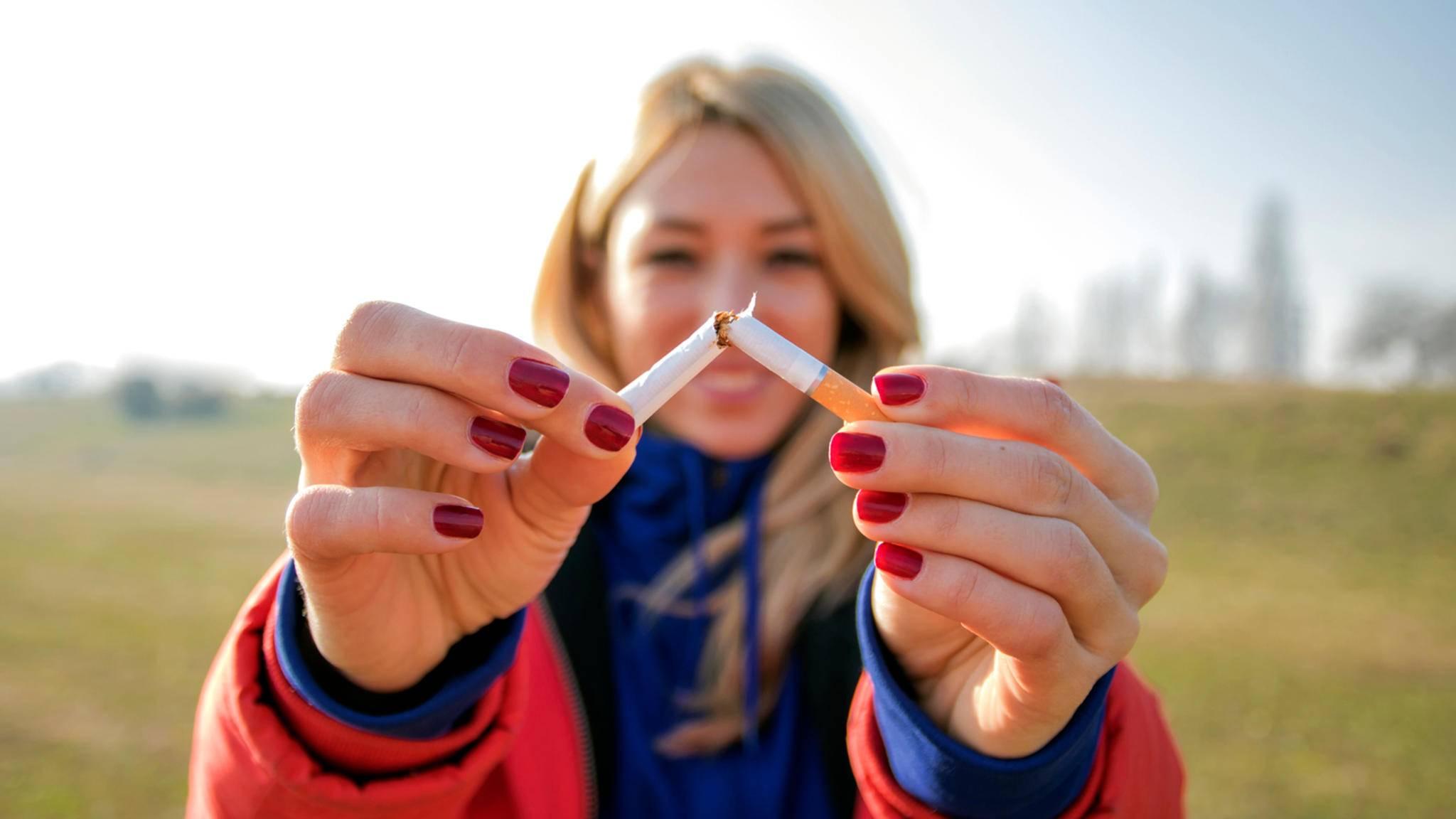 Möchtest Du auch mit dem Rauchen aufhören? Diese App könnte Dir dabei helfen.