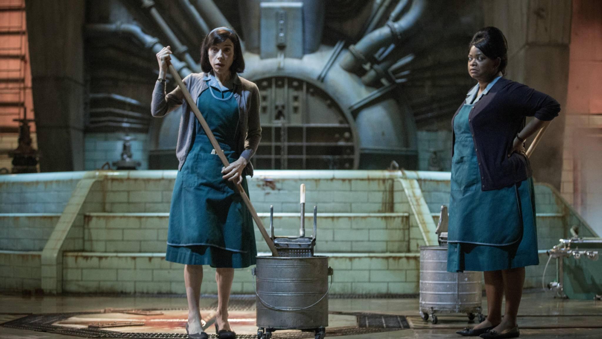 """Shape of Water"" hat die Konkurrenz bei den Oscars 2018 weggeputzt."