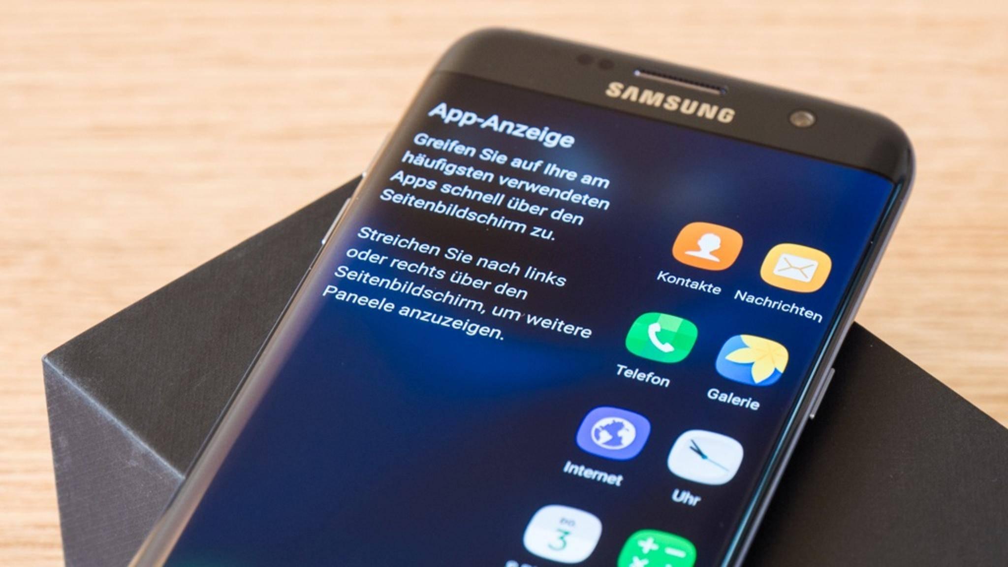 Das Samsung Galaxy S7 könnte ein Update auf Android 9.0 Pie bekommen