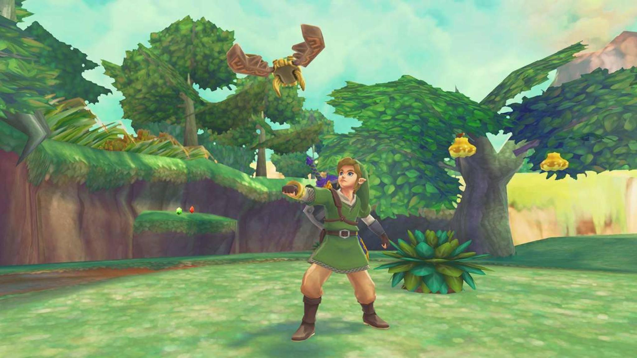 """""""Skyward Sword"""" für den Wii ist chronologisch eigentlich das erste """"Zelda""""-Spiel."""