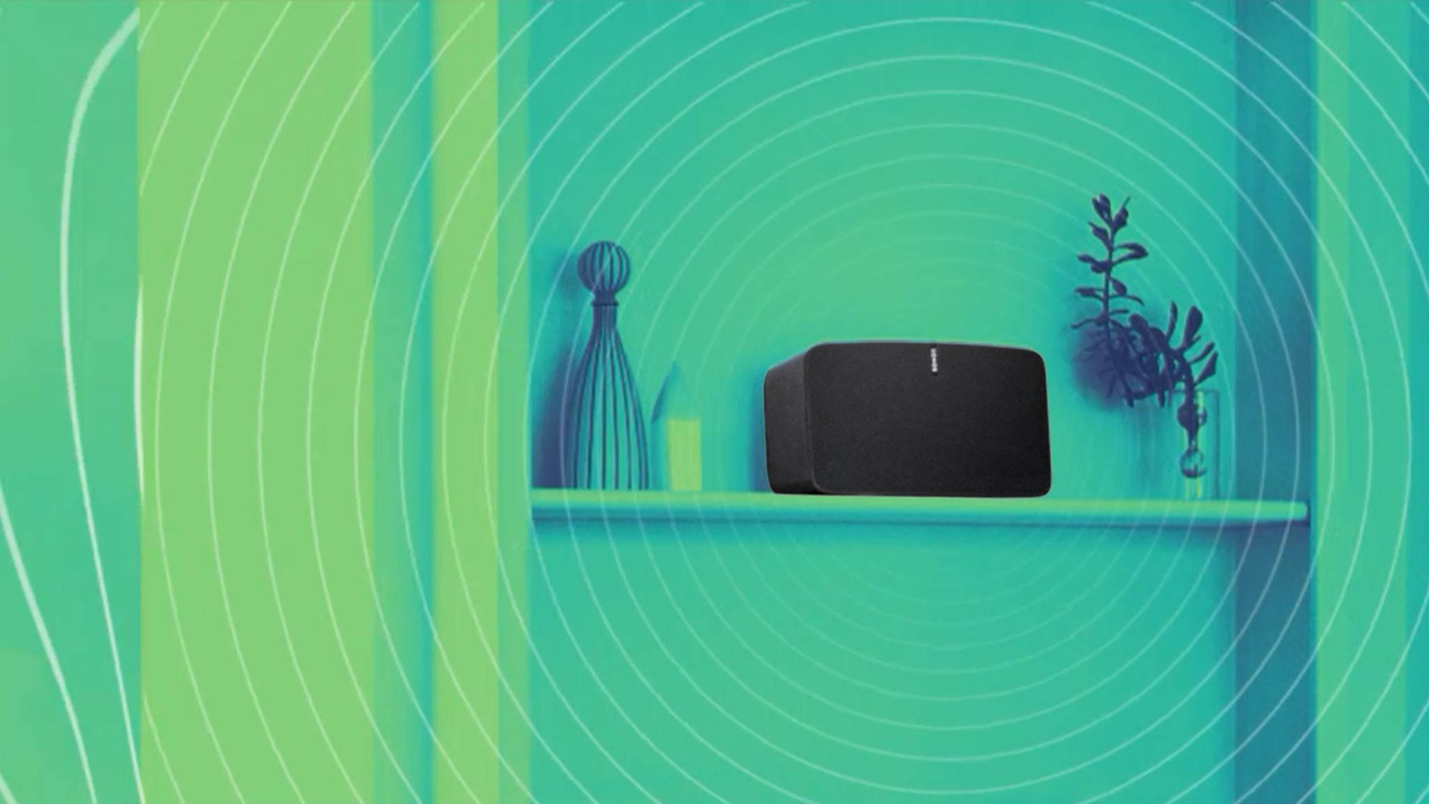 Du willst YouTube-Songs über Deinen Sonos-Lautsprecher hören? Wir erklären, wie das funktioniert.