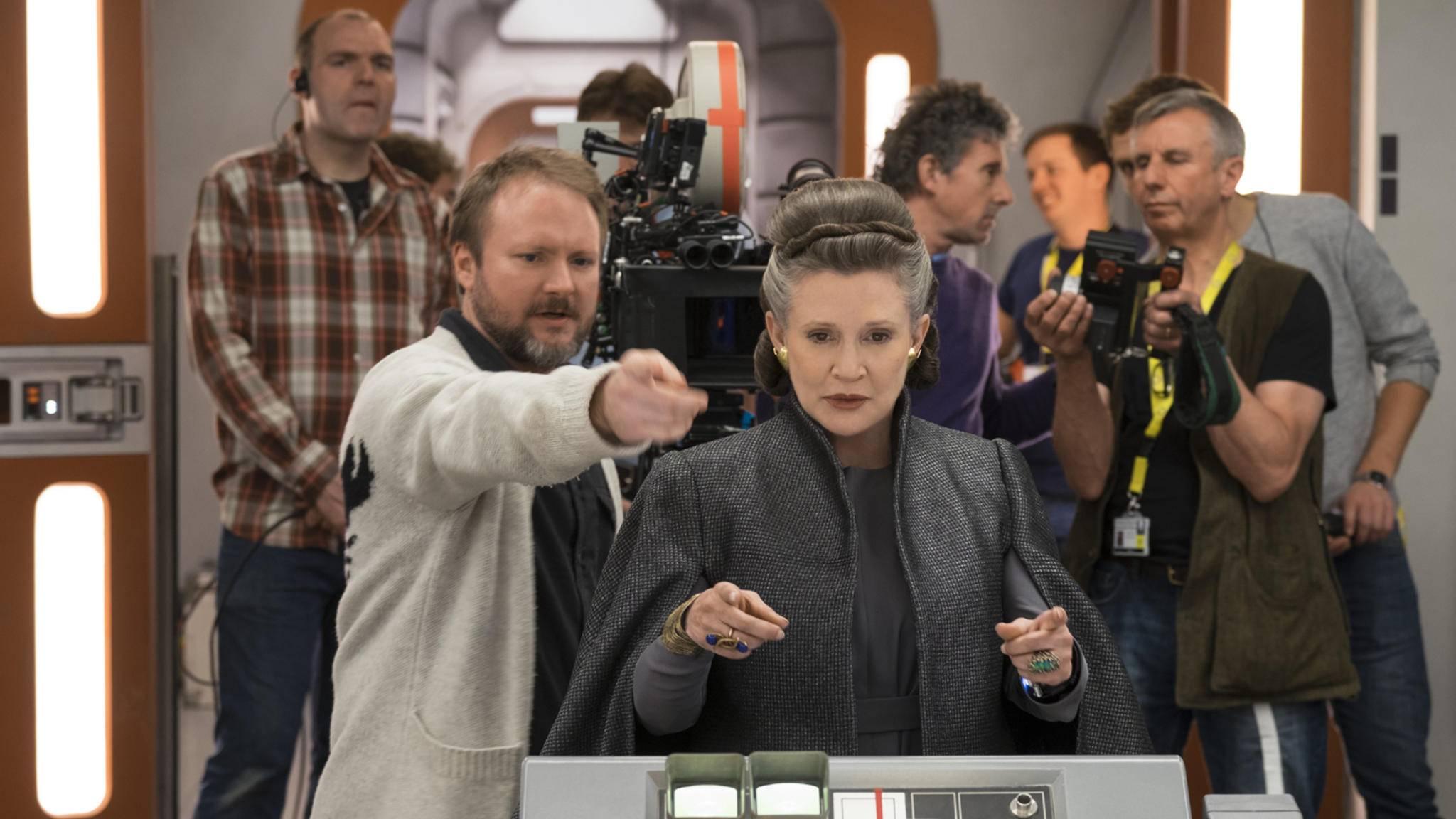 """Carrie Fisher wird in """"Star Wars: Episode IX"""" wieder mit am Start sein – wenn auch indirekt."""