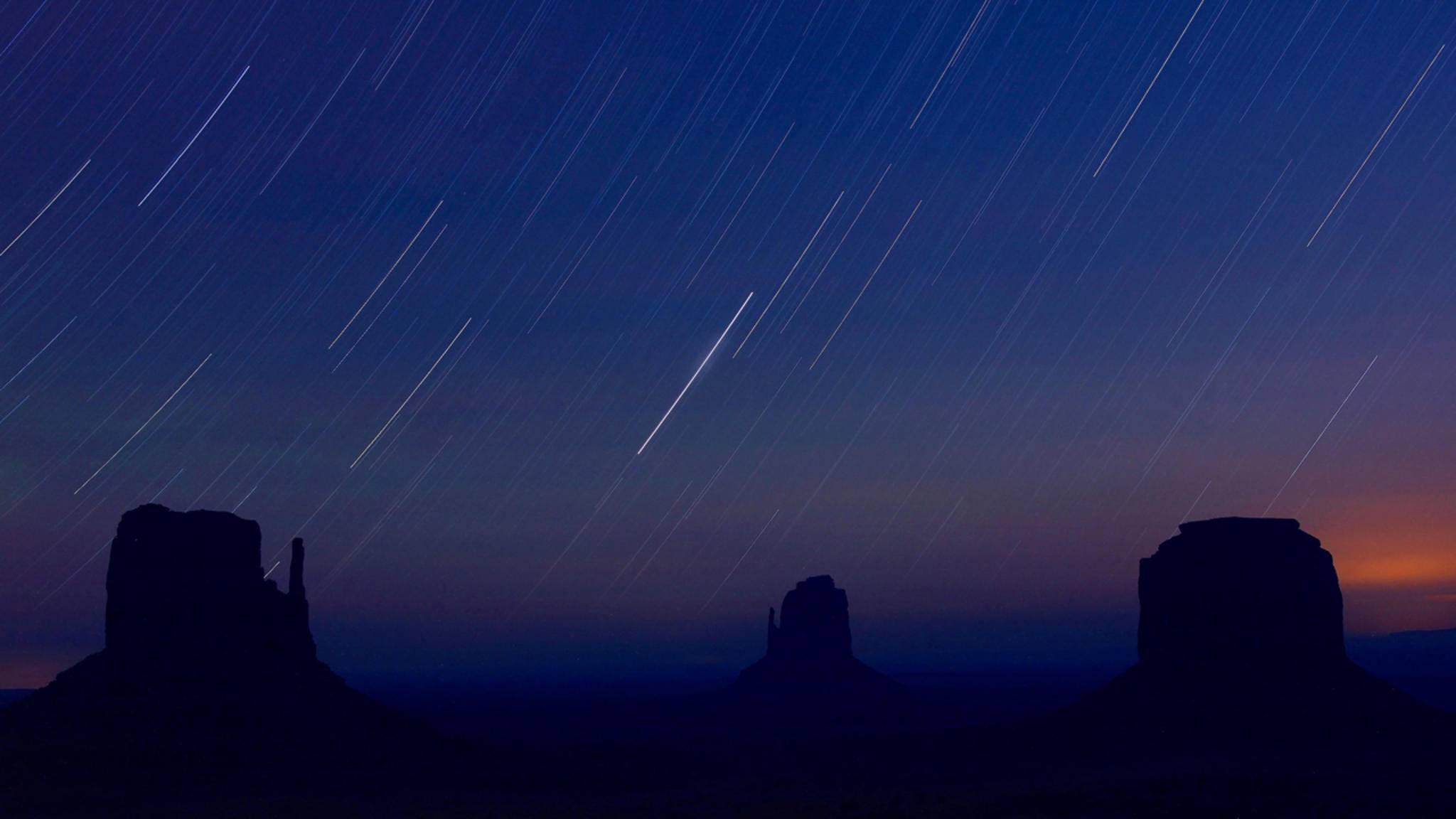Ob einzelne Sterne oder Sternenspuren – viele Effekte lassen sich durch gezielte Nachbearbeitung hervorheben.