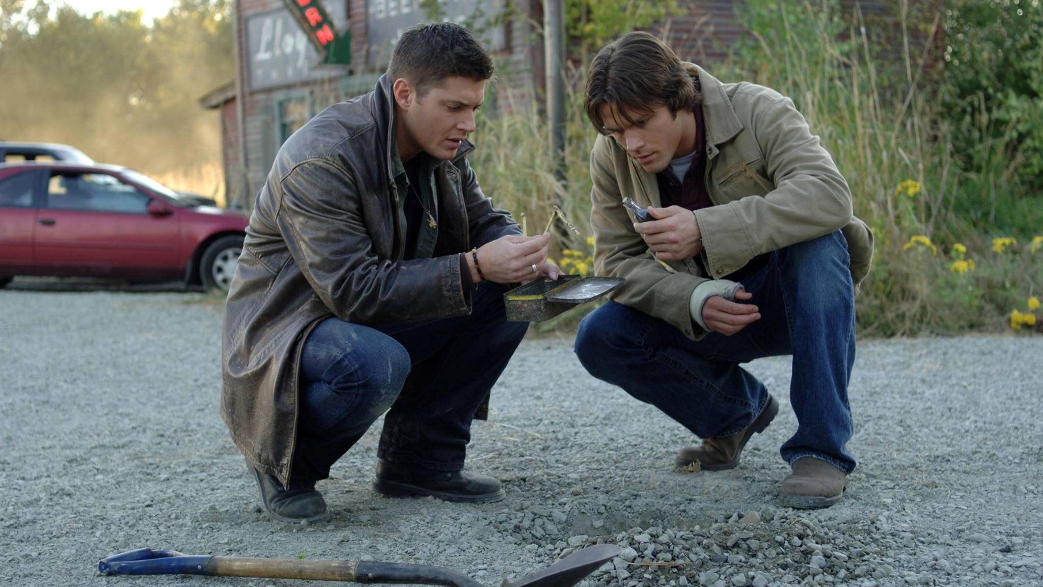 Ja, was haben wir denn da? Auf Sam und Dean könnten noch viele Abenteuer warten.